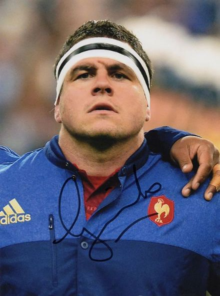 Guilhem Guirado, France, Toulon, signed 8x6 inch photo.